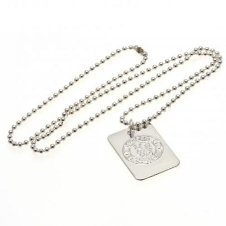 Медальон CHELSEA Silver Plated Dog Tag & Chain 513690 m15sdgche